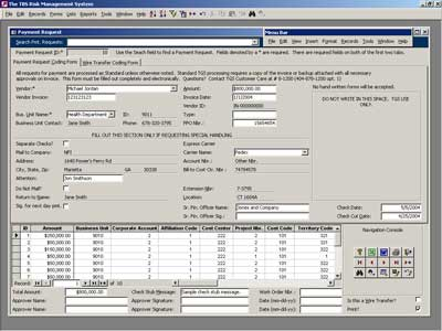 Custom Software Developers NFI - work sample